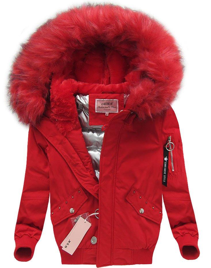 winterjacke mit kapuze rot w126 rot damen jacken m ntel f r winter. Black Bedroom Furniture Sets. Home Design Ideas